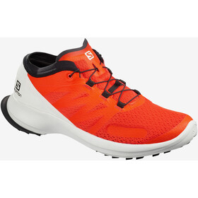 Salomon Sense Flow Shoes Men, cherry tomato/white/black